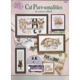 Revista Punto Cruz Vintage Cat Purr-sonalities
