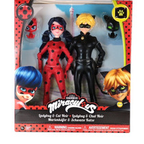 Muñecos Miraculous Ladybug Y Cat Noir