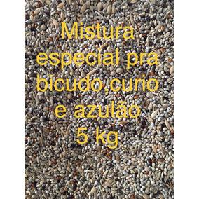 Mistura De Sementes P/ Curió , Bicudo , Azulão 5 Kg