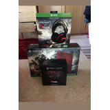 Xbox One S Con Control Elite Y Headset Gears Of War 4