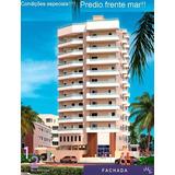 Apartamento Frente Mar Praia Grande Sem Consulta Spc/serasa!