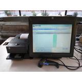 Lote 2 Terminales Punto D Venta Touch Ncr C/ 1 Impresora Ncr