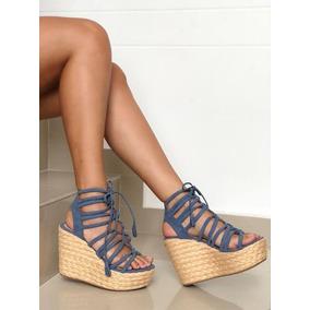 Sandalias Peludas Mujer Mercado Zapatos Para Acero Azul En Libre HIY2ED9eWb
