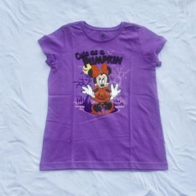 Remera De Disney Violeta Xl 12-14 Años Importada
