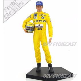 1/10 Iron Studios Estátua Ayrton Senna Mônaco F1 1987 Lotus