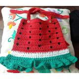 Vestido Playero Tejido A Crochet