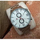 Reloj Tommy Hilfiger Acero Inoxidable Con Calendario