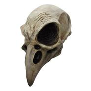 Máscara De Cuervo Calavera. Día De Muertos, Halloween
