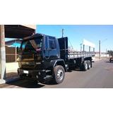 Ford Cargo 2428 Trucado 6x2 Com Carroceria Jj Caminhões