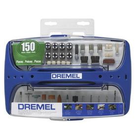 Kit 150 Acessórios Para Uso Geral Referência 967-06 Dremel