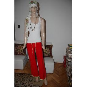 Whoss Pantalon De Gimnasia Rojo De Tela De Avion Color Rojo