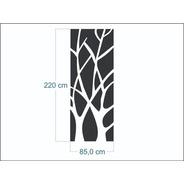 Mdf Decorativo Auto Adesivo - Galhos - 2,20m - Lançamento