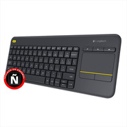 Teclado Inalámbrico Logitech Touch K400 Plus · Pc Tv Android
