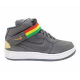 Tênis Nike Air Force Cano Alto Preto Mod:13556 Lançamento