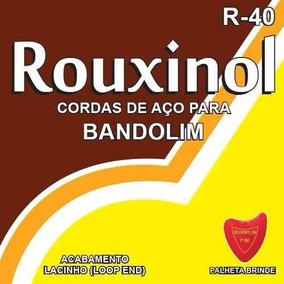 Encordoamento Rouxinol Para Bandolim R-40