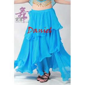 Hermosa Falda Para Danza Arabe Bellydance Hecha A La Medida