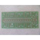 Placa Do Vu Amplificador Gradiente A 1 (pci163/1)