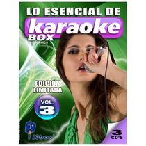 3 Cd+g Karaoke Box Originales Nuevos En Español E Ingles V.3