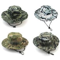 Sombrero Para Sol O Pesca Camuflaje Tipo Militar Sniper