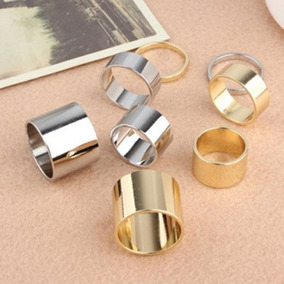 4pcs Of Alloy Knuckle Index Finger Rings-one Sizecolor