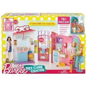 Nova Barbie Hospital Dos Bichinhos Mattel