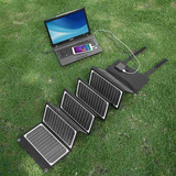 5v-18v Poweradd 60w Usb Panel Solar Energía Banco Cargador