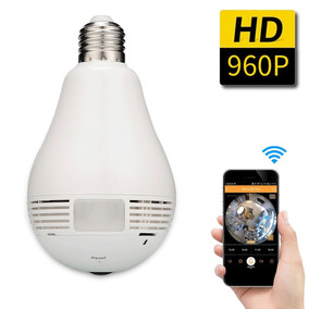 Câmera Ip Wireless Panorâmica 360º 3g 4g Acesso Remoto 1,3m
