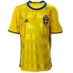 Playera Jersey Suecia Euro 2016 Local Niño adidas Aa0447 6c5ad268d1c5d