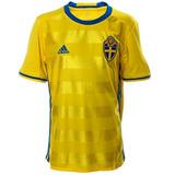 Playera Jersey Suecia Euro 2016 Local Niño adidas Aa0447