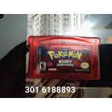 Pokémon Rubí Gameboy Advance