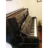 Piano Vertical Steinway Sons, Modelo De Colección
