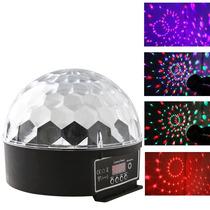 Meia Bola Maluca Led Rgb 30w Dmx Cristall Ball 9 Cores Bivol