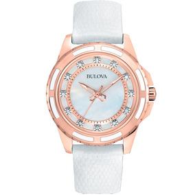 Reloj Bulova Diamond 98p119 Tienda Oficial Bulova