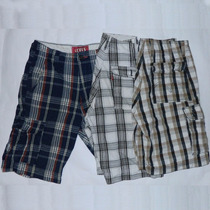 Lote3x Bermudas Cargo Levis Red Tab Talle W32 Casual Outdoor
