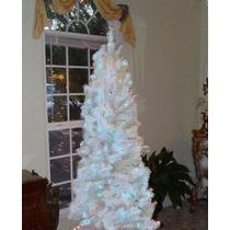 Arbol De Navidad De 7 Pies Blanco Arbolito Alaskan