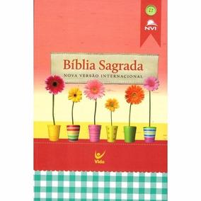 Bíblia Flores Frete Gratis