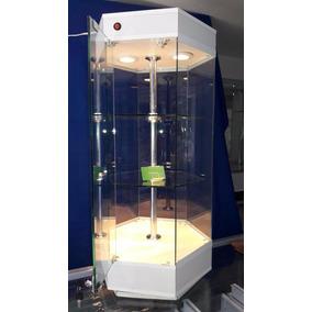 Aparador Hexagonal De Mostrador, Vitrina, Exhibidor