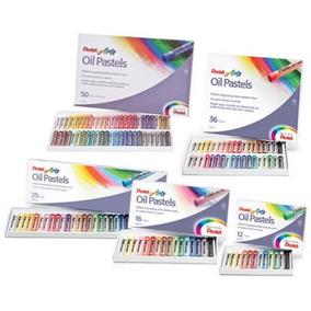 Gis Pastel Oil Aceite 12 Colores Graso