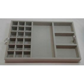 Organizador Porta Joias Para Gavetas - Grey 01