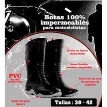 Botas Para Motociclistas Con Estilo 100% Impermeables