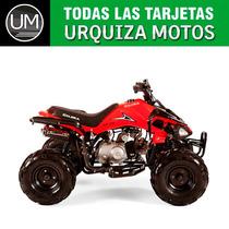 Cuatriciclo Quad Gilera Fr 110 Free Runner 0km Urquiza Motos