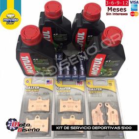 Kit 2 Servicio Frenos Y Motor R1 R6r Gsxr Cbr 1000rr 600rr