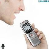 Philips Grabador De Voz Dvt2000 De 4gb Con Conexión Usb