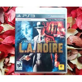 La Noire - Mídia Física - Impecável - Playstation 3