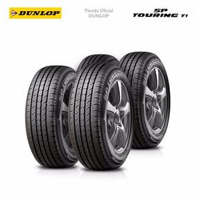Kit X4 175/70 R13 Dunlop Sp Touring T1 + Colocacion En 60suc