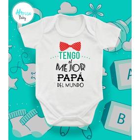 f9dee9e67 Mamelucos Personalizados Dia Del Padre - Ropa para Bebés Blanco en ...