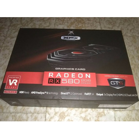 Tarjeta De Video Radeon Rx 580 Xfx Gaming 8gb Ddr5