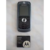 Celular Motorola L6i Solo Para Movistar Barato