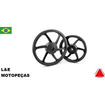 Jogo Roda Liga Leve Moto Titan/fan 125 00/08 Freio A Tambor