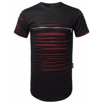 Camiseta Masculina Longline Swag - Oversized Pronta Entrega